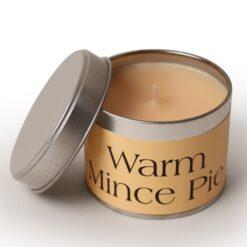 Warm Mince Pie Coordinate Candle