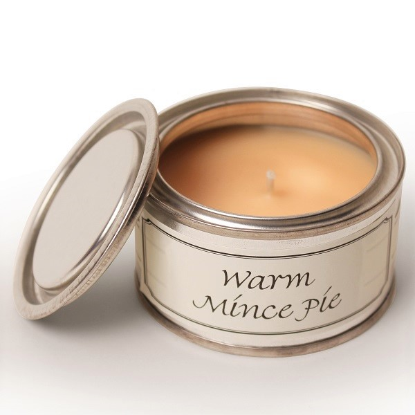 Warm Mince Pie Paint Pot Candle