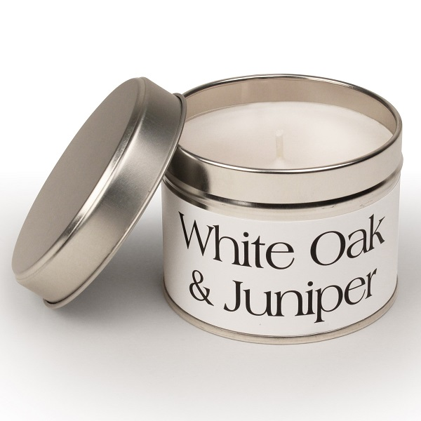 White Oak and Juniper Coordinate Candle