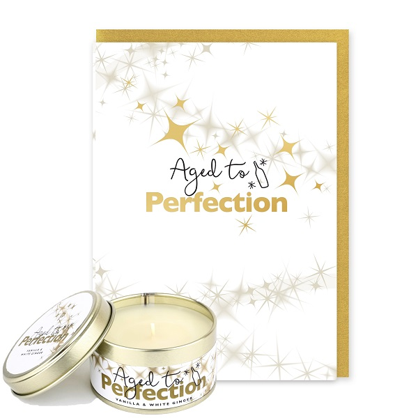 Aged to Perfection Card and Candle