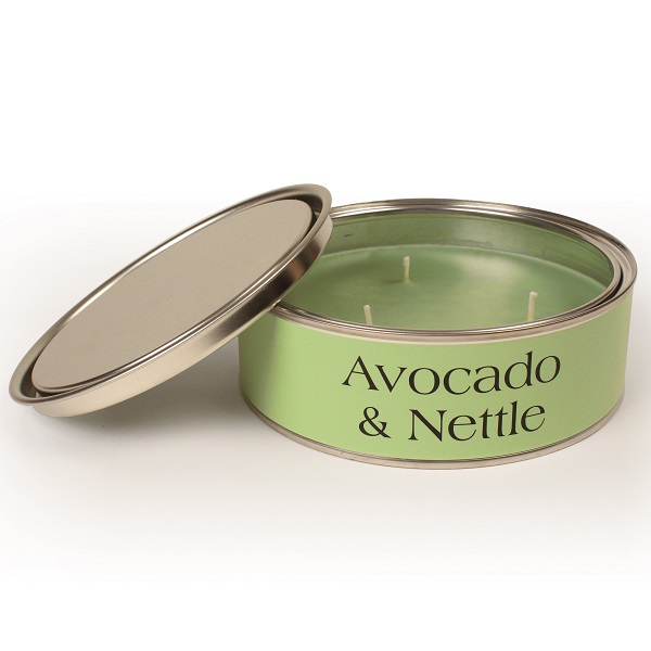 Avocado and Nettle Elements Triple Wick Candle