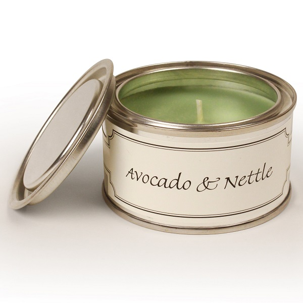 Avocado and Nettle Paint Pot Candle