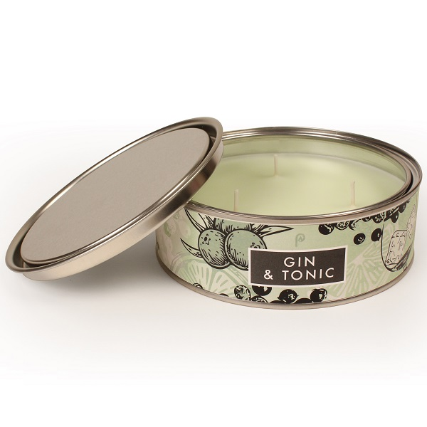 Gin and Tonic Elements Large Candle