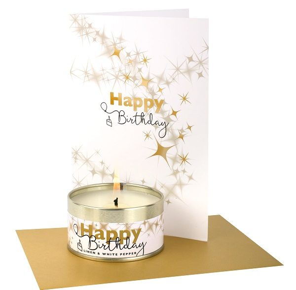 Happy Birthday Occasions Candle and Card and Envelope