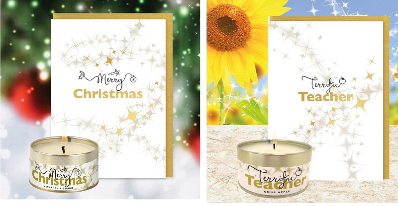 Merry Christmas Card and Candle & Terrific Teacher Card and Candle News Post