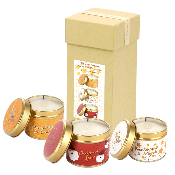 Tis the Season Box Set showing 3 candles