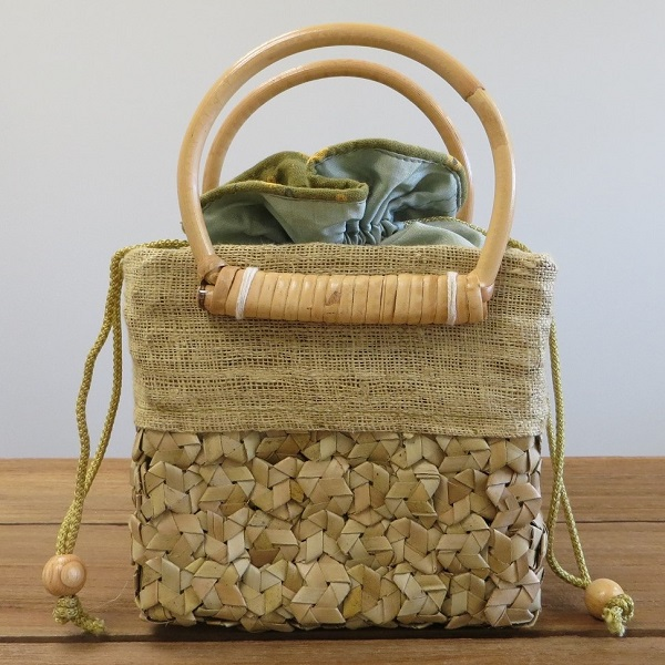 Sugar Palm Bag - Natural colour