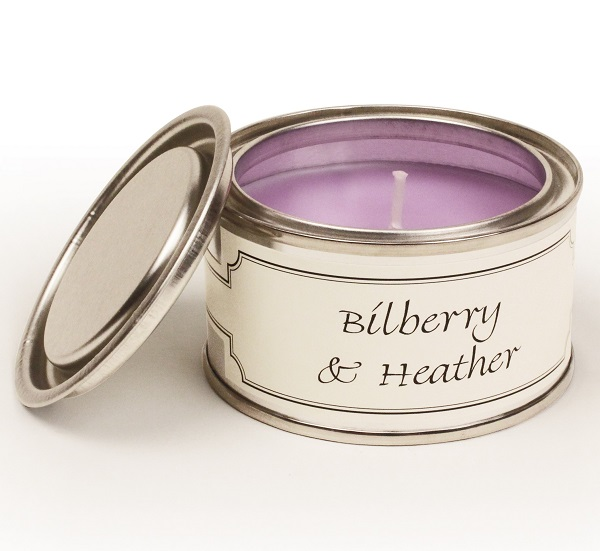 Bilberry and Heather Paint Pot Candle