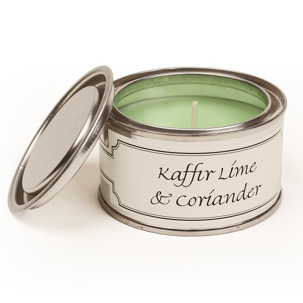 Kaffir Lime and Coriander Paint Pot Candle