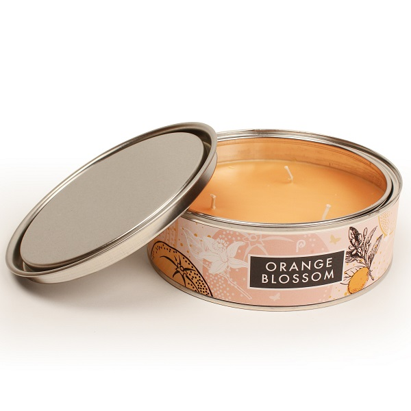 Orange Blossom Elements Large Candle