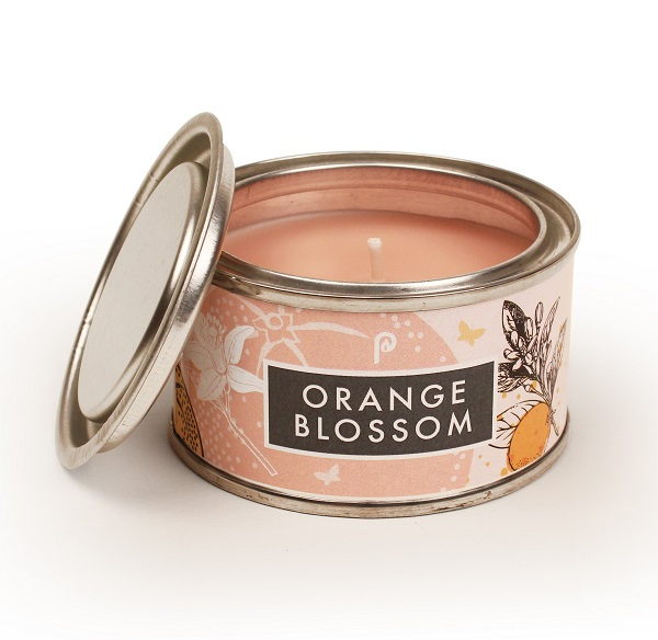 Orange Blossom Elements Small Candle