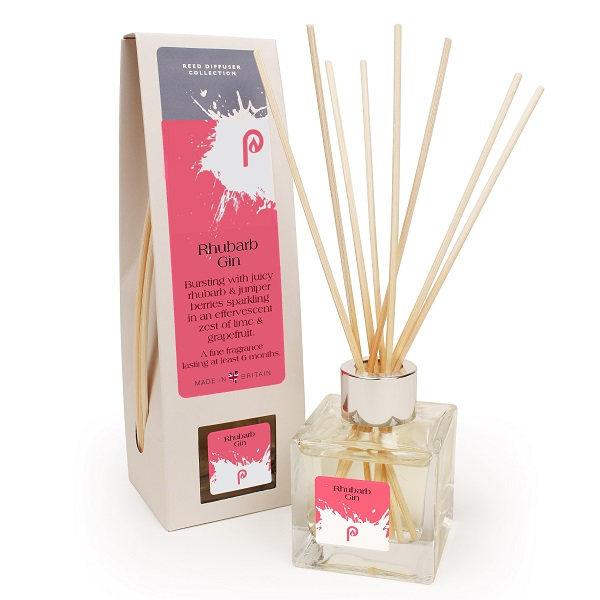 Rhubarb Gin Reed Diffuser with Bottle Box and Reeds