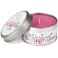 Darling Daughter Occasions Candle Wild Rose & Rhubarb 1