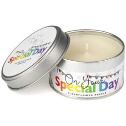 On Your Special Day Occasions Candle Elderflower Presse 1