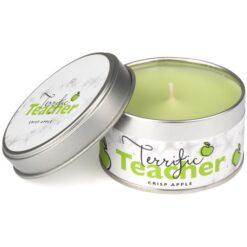 Terriffic Teacher Occasions Candle Crisp Apple. Green.